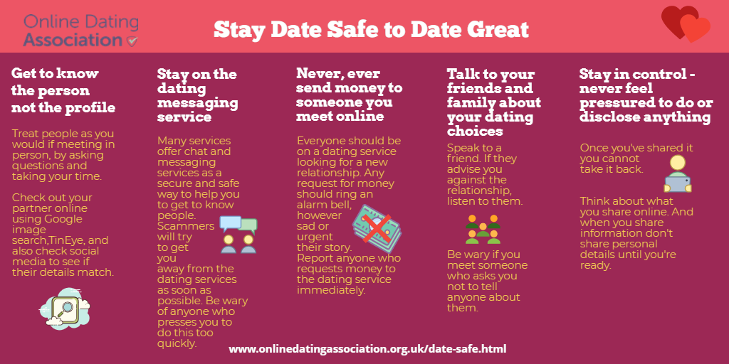 Stay date safe to date great